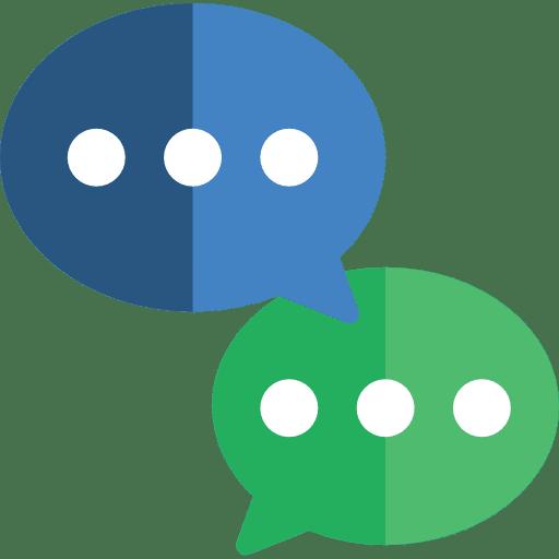 interaction sur les réseaux sociaux