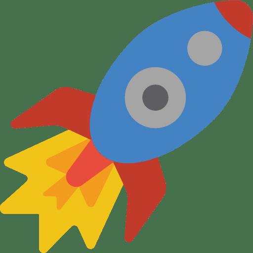 décollage d'une fusée pour illustrer le succès grâce à une bonne stratégie sur les réseaux sociaux