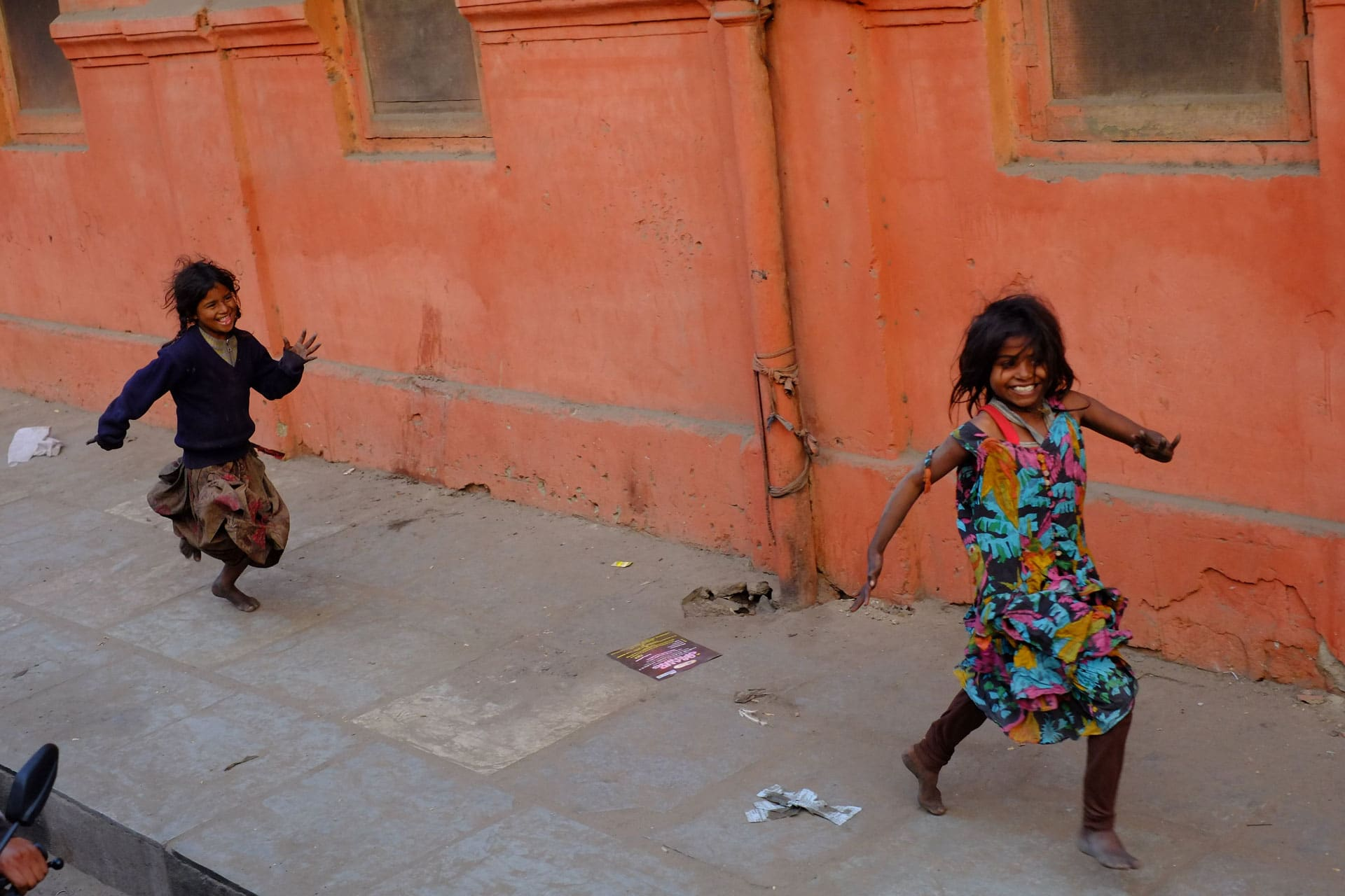 sourires et couleurs en inde par sebastien archimbaud