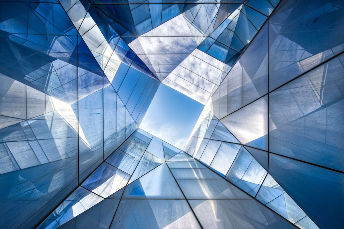 photographie d'architecture du musée Blau Barcelone