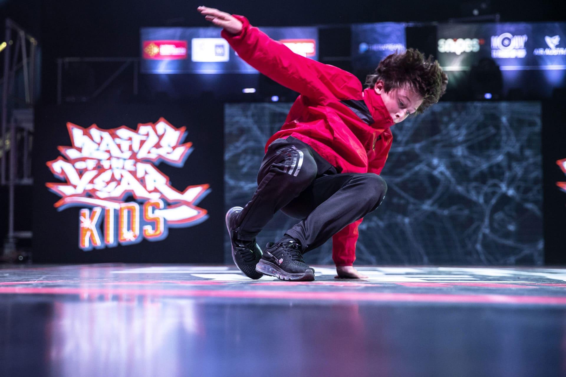 un danseur hip-hop