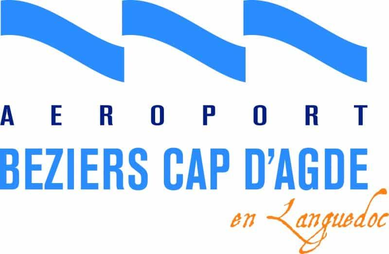 Logo Aéroport de Beziers Cap d'Agde