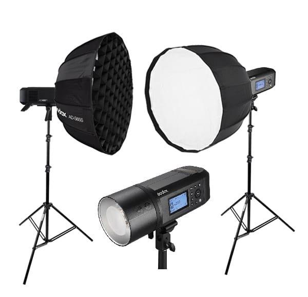 Photographie d'éclairages studio pour prise de vue studio professionnel à Montpellier