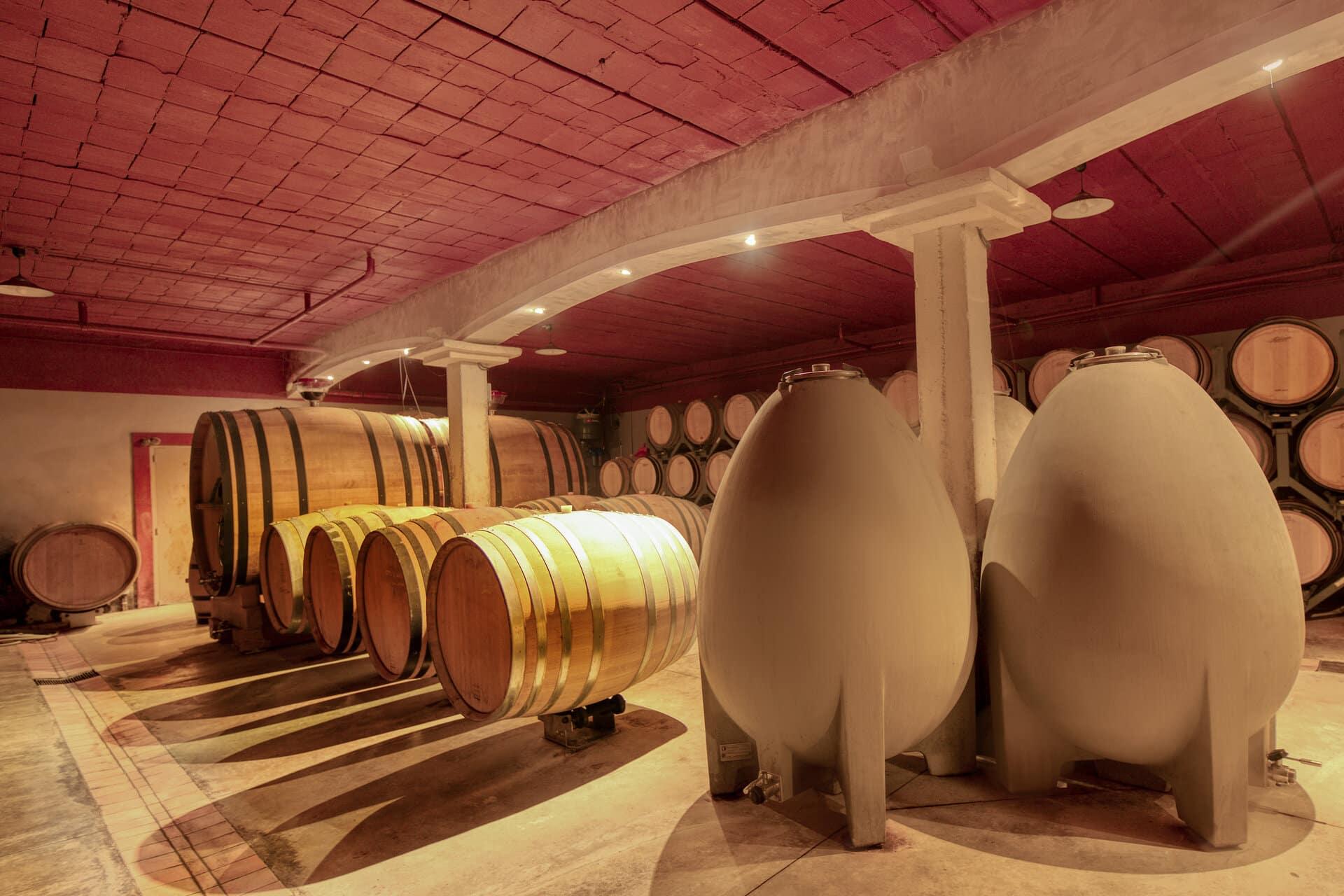 cave vins photographie professionnelle